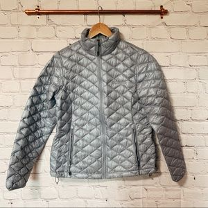 Columbia grey quilted puffer jacket #112